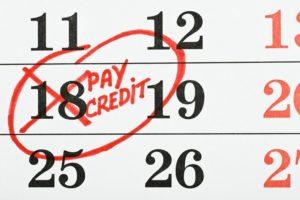 дата платежа по кредиту