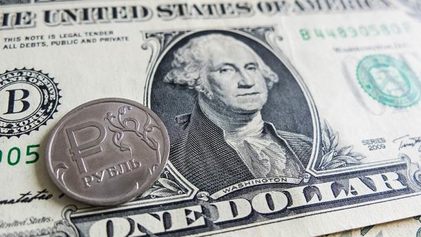 курс доллара к рублю в 2020 году